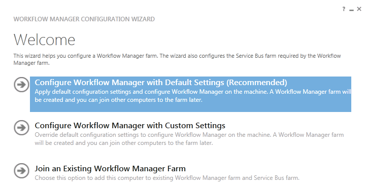 07 configuring workflowmanager